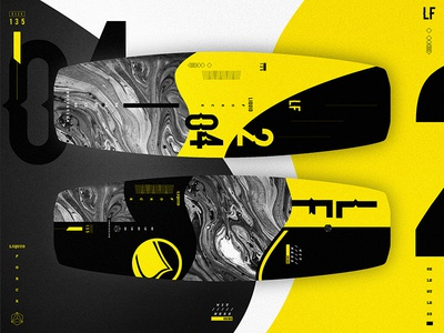 Liquid Force Wakeboards // Witness - Lava Edition typography skateboard graphic design graphic web ux vector ui design organic geometric wakeboard