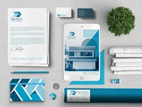 Brand Identity for Pre-Fab Modern Home Builder // Factors