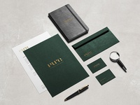 Pure Nature Shop stationery