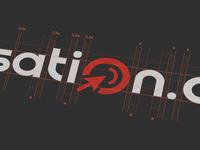 Semsation logo construction