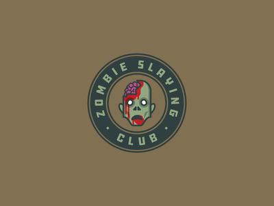 Zombie Slaying Club | Badge