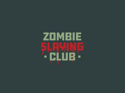 Zombie Slaying Club | Logotype