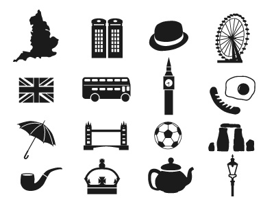 England Icons vector illustration icon england great britain
