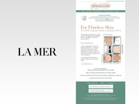 La Mer Email Design