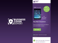 Business Cover Expert Brand Identity and Site Design