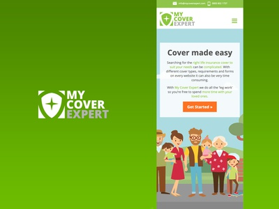My Cover Expert Brand Identity and Web Design