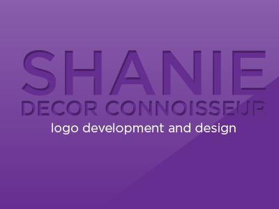 Shanie Decor Connoisseur Logo Creation