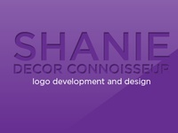 Shanie Decor Connoisseur Logo Creation