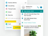 Driver App order details grace period