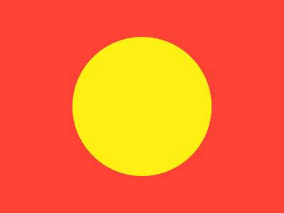 Haze #9 yellow series red layout haze grid eight design collection circle 8pt
