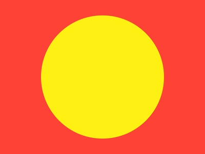 Haze #11 yellow series red layout haze grid eight design collection circle 8pt