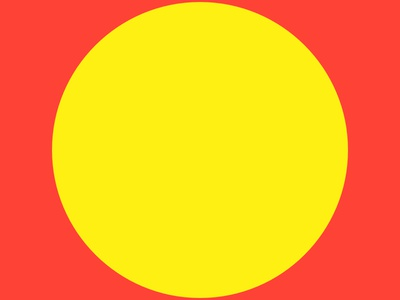 Haze #13 yellow series red layout haze grid eight design collection circle 8pt