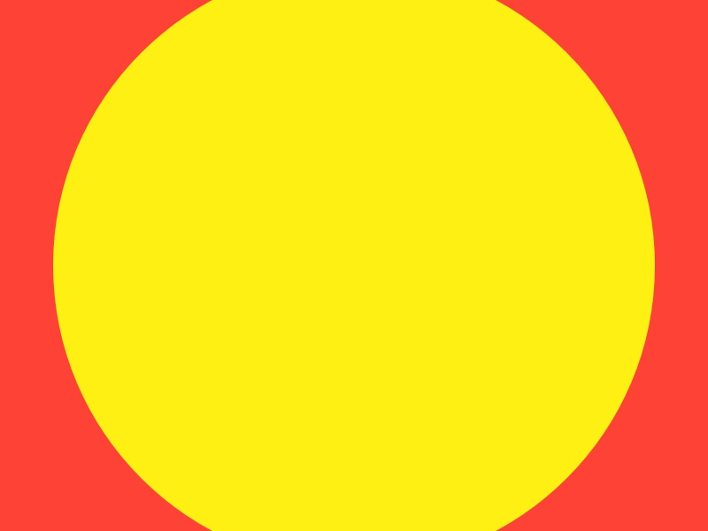 Haze #15 yellow series red layout haze grid eight design collection circle 8pt