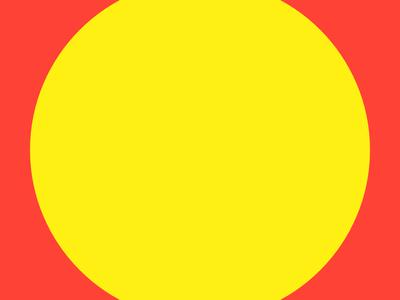 Haze #15 yellow series red layout haze grid eight design collection circle 8pt