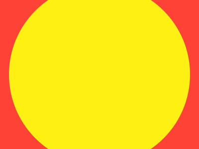 Haze #16 of 16 yellow series red layout haze grid eight design collection circle 8pt