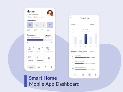 Smart Devices | Smart Home app graphic design illustration vector ui ux design uidesign mohamed adil crazee adil