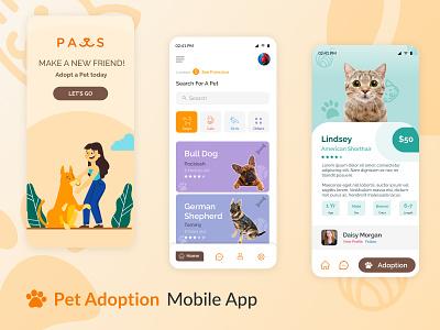 Pet Store Mobile app branding web illustration mohamedadil uidesign ux ui mohamed adil graphic design crazee adil