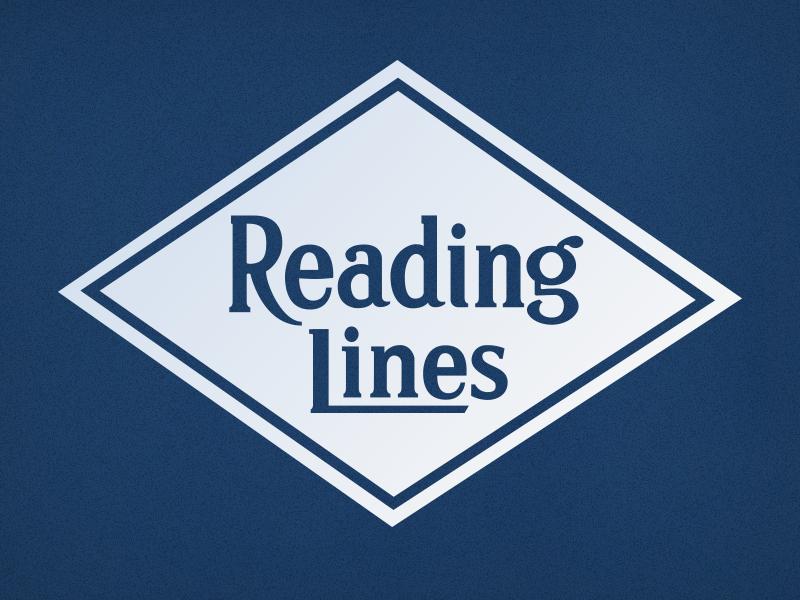 Reading Railroad Logo illustrator typography logo tracing lettering railroad vector