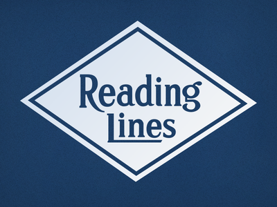 Reading Railroad Logo illustrator typography logo tracing lettering railroad vector