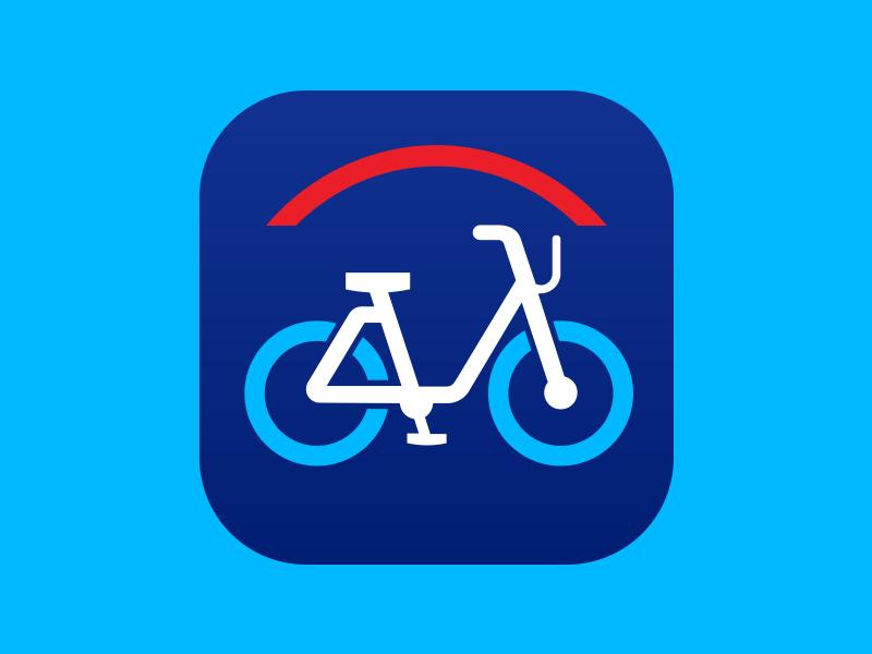 Citi Bike Icon app icon icon design citibike