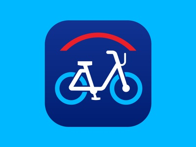 Citi Bike Icon app icon icon design citibike