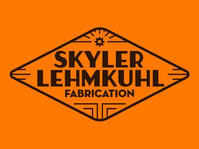 Art Deco Metalwork Logo typography vector lettering art deco vintage logo