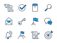 Job-search icons