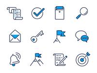 Job-search icons