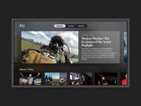 Wall Street Journal for Apple TV case study redesign apple tv