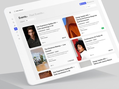 Nexudus – Events productdesign events calendar functional design bbagency balkan brothers events page visual design co-working app white label saas product saas uxdesign uidesign