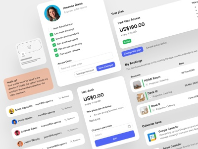 Nexudus – Settings saas product product designs settings smart design balkan brothers visual design designer structure settings page white label product white label saas design saas product design ux design uidesign design