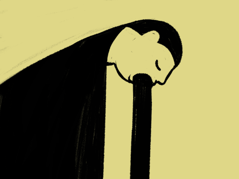 Pain comic depression pain sadness procreate drawing sketch art character illustration