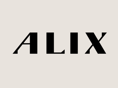 Alix Typeface