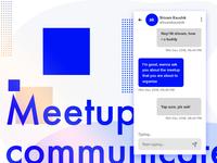 Communication App Concept