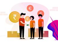 Global Commission Rate Illustration