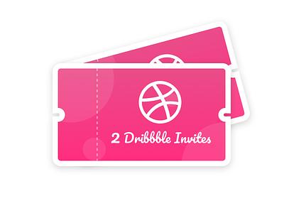 2 Invites Available ✌️🏀 webkul invitations invite invites dribbble invite tickets coupons