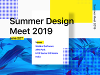 Summer Design Meet 2019