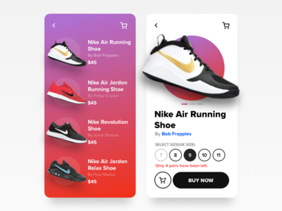 Shoes Store App webkul product design product payment cart concept seller marketplace sketch icons icon ux ui app mobile ecommerce app ecommerce footwear shoes shoe