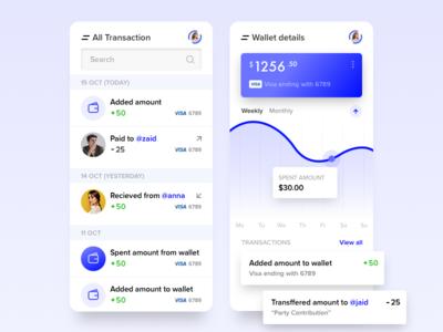 Wallet System Hybrid App 💵