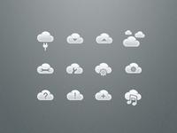Cloud Icons Sneak Peak