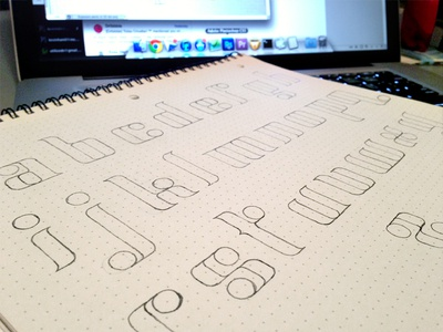 Font - Lowercase Sketch