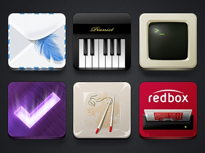 Icons for Jaku iPhone Theme