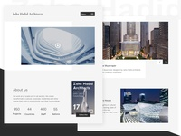 Architect - User Interfaces Design