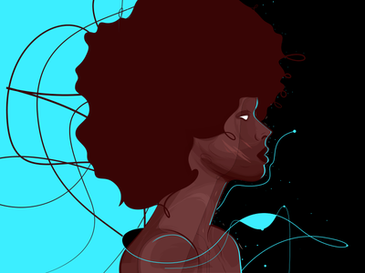 17 woman character design illustrator vector illustration