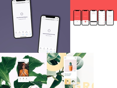 My #Top4Shots 2018 top4shots ux startup mobile ui illustration freelance animation branding product design