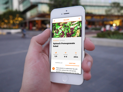 Cooking app - UI Prototype