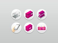 Icon set - Merqueo operations