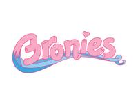 Bronies Lettering
