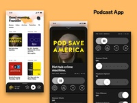 Podcast App Sketching