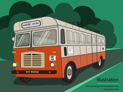 Nostalgic bus journey of my childhood